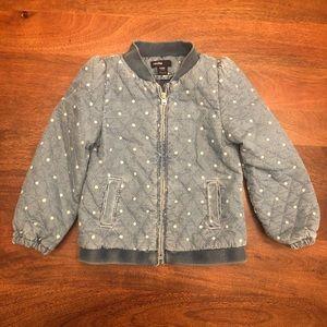 Gap - jeans and polka dots jacket!